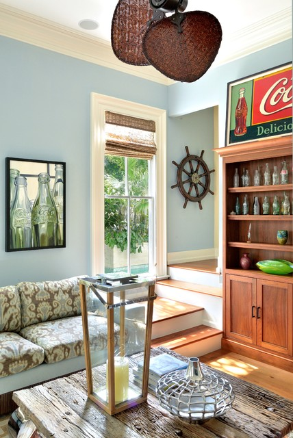 Old Town Key West - Contemporary - Living Room - Other - by Bender ...