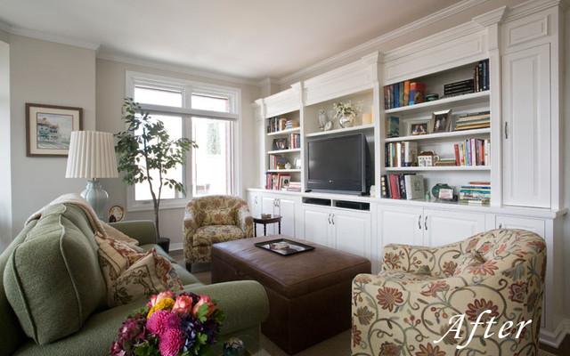 Old Town Pasadena Cozy Condo Traditional Living Room