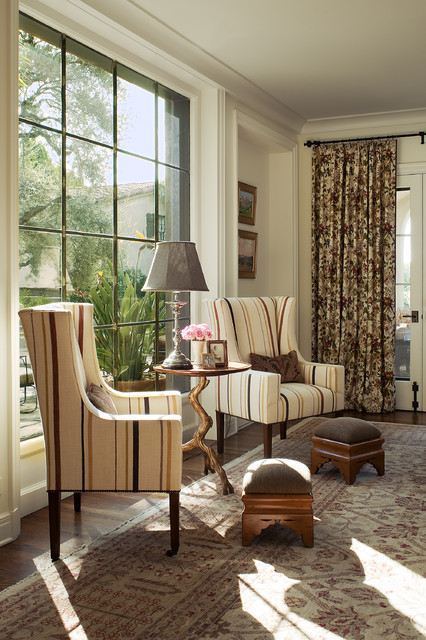 Old World A New eclectic-living-room