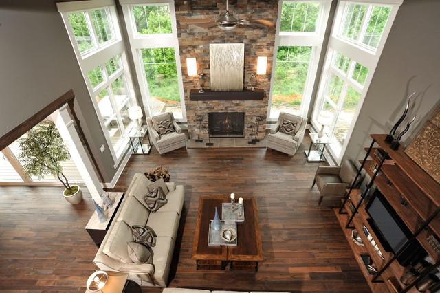 Olentangy Falls ~ Delaware, OH modern-living-room