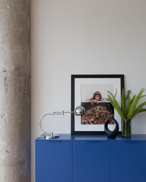 One Brooklyn Bridge Park Loft contemporary-living-room