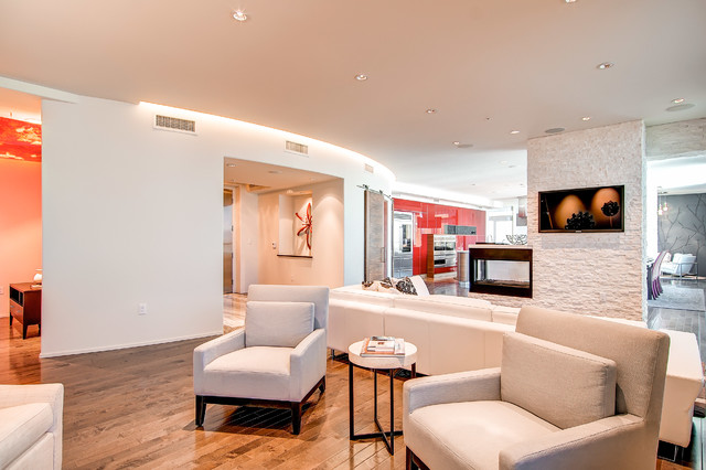 One Lincoln Park contemporary-living-room