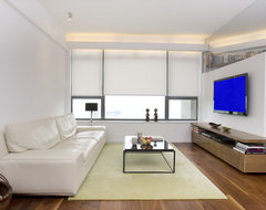 One Robinson Place - Minimalistic Design with an Artistic Touch contemporary-living-room