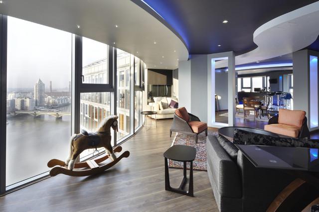 one-world design contemporary-living-room
