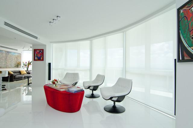 Opalina Krystal Glass modern-living-room