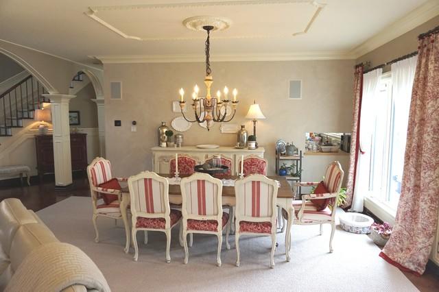 Open concept living-dining-kitchen, Aire ouverte salon salle ...