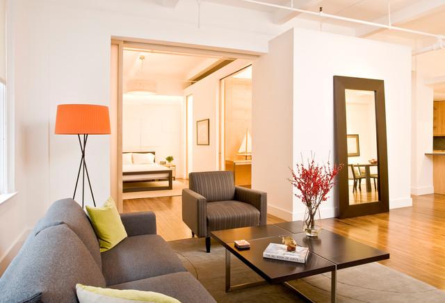 park avenue south, nyc contemporary-living-room