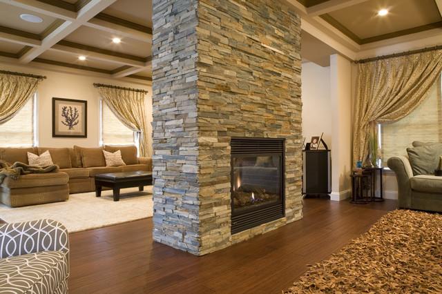 Open Floorplan Contemporary Living Room Part 60