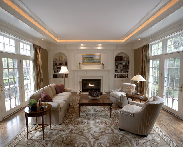 Traditional Living Room Denver By Creative West Architects