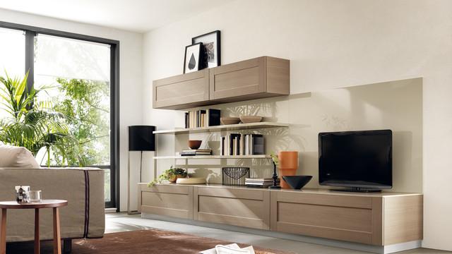 Open Living Scavolini Modern Living Room