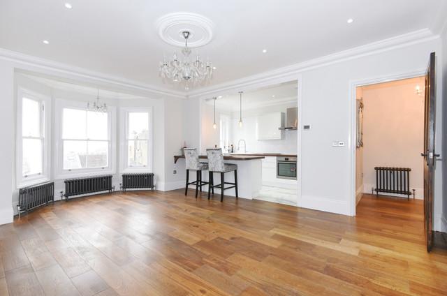 Open Plan Kitchen Living Room modern-living-room