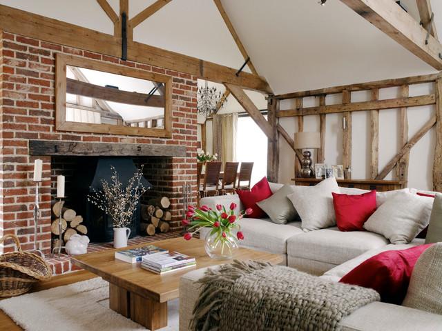 Barn Conversion farmhouse-living-room