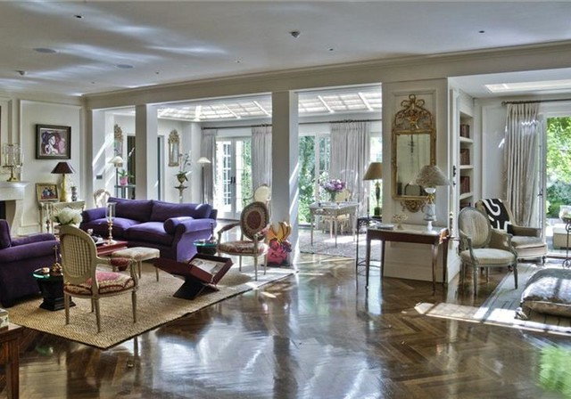 Opulent interiors transitional living room london for London living room ideas
