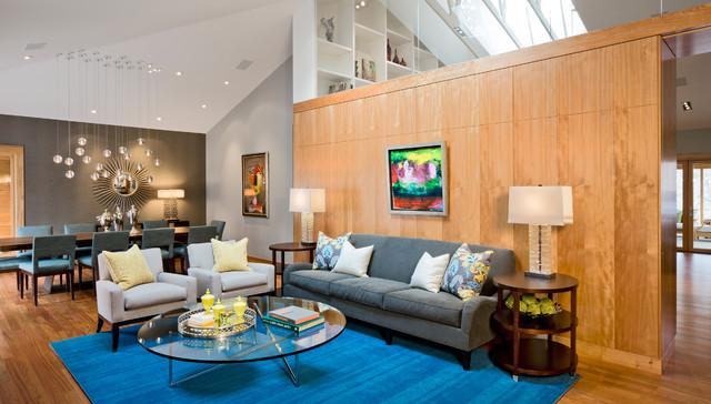 Organic modern modern living room minneapolis by streeter