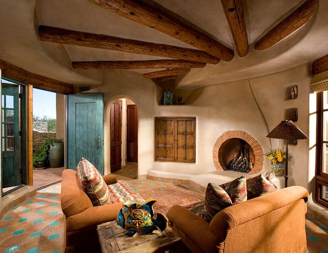 Organic Southwest Southwestern Living Room Phoenix By