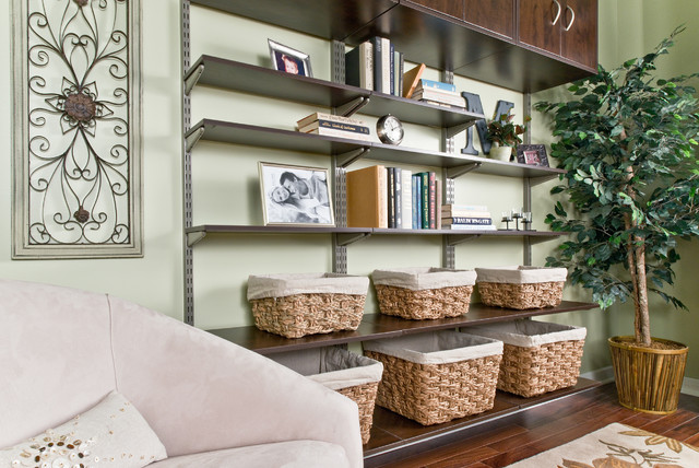 Organized Living FreedomRail Living Room Bookshelves Contemporary Living  Room