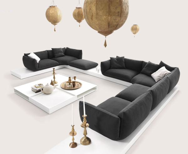 Incroyable Oriental Style Sofas   Jalis Soft Sofas By COR Modern Living Room
