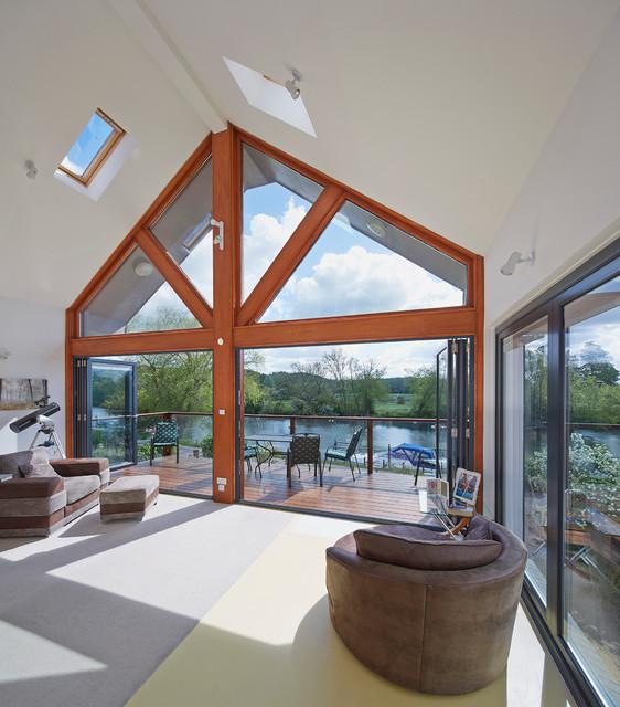 Origin Frames Contemporary Living Room West Midlands By