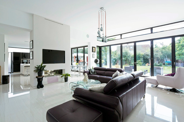 Origin Frames Contemporary Living Room West Midlands By Rowen Photography Limited