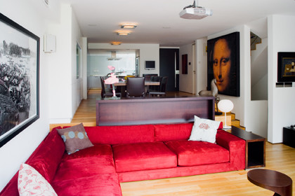 Original Vision modern-living-room