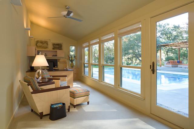 Orinda Home contemporary-living-room