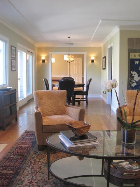 Orinda serene living room for Serene living room ideas
