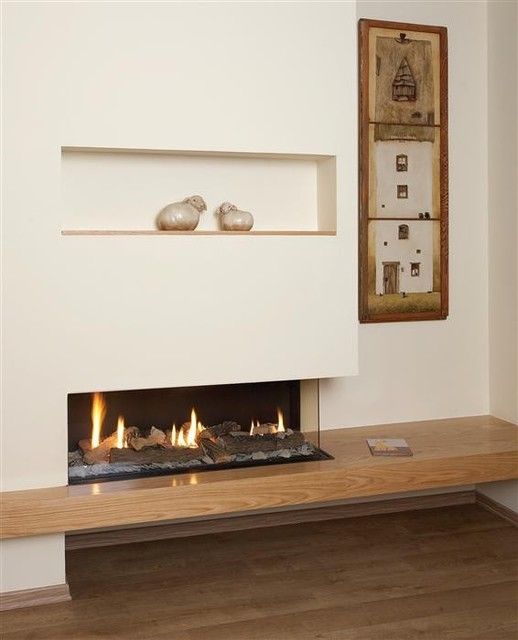 ortal clear 110 rs ls fireplace modern living room