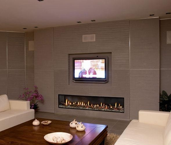 Ortal Clear 200 Fireplace - Modern - Living Room - Denver - by Home ...