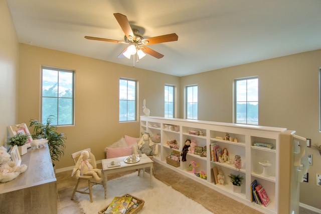 Ortiz Loft Addition Shabby Chic Style Living Room
