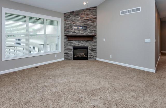 Orton Homes contemporary-living-room