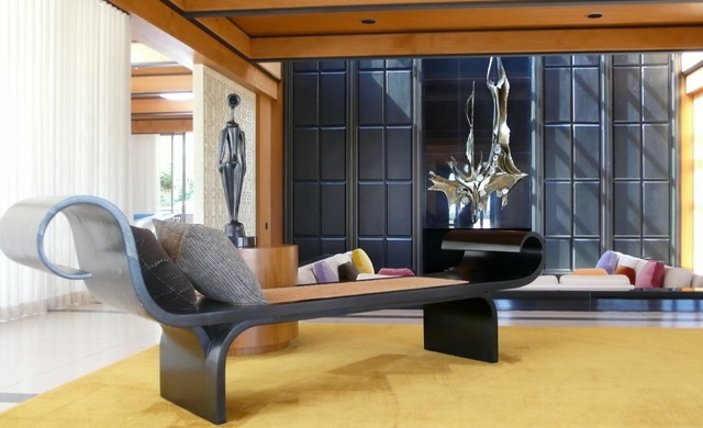 Oscar Niemeyer Furniture In A Brad Dunning Interior