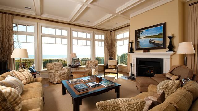 Kiawah Flyway Oceanfront traditional-living-room