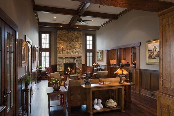Ossmann residence traditional-living-room