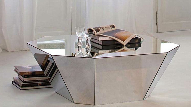 otto modern coffee table by cattelan italia