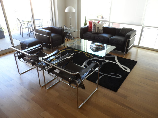 our lc2 petite lounge chair and loveseat customer photos - Lounge Chairs For Living Room