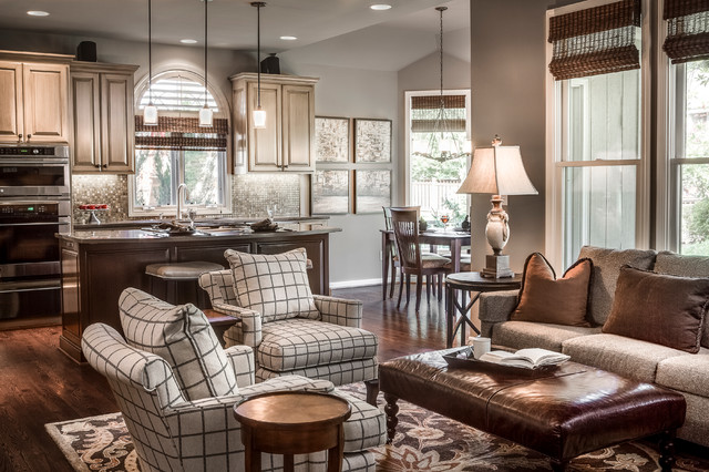 Overland Park Ks Multi Room Interior Design Transitional Living Room Kansas City By