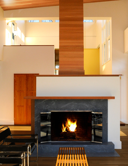 Overlook House Living Room contemporary-living-room