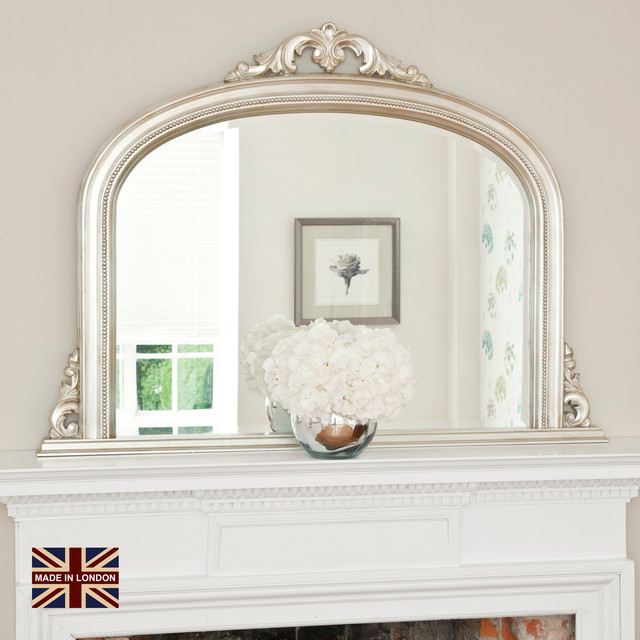 Overmantel Mirrors Traditional Living Room