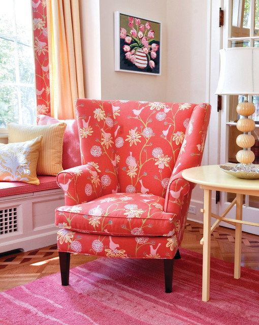 Owen Wing Chair - Traditional - Living Room - Baltimore - by Maine ...