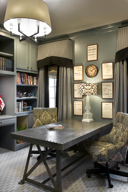 Own Your Home 39 S Decor Transitional Home Office Other Metro By Knotting Hill Interiors