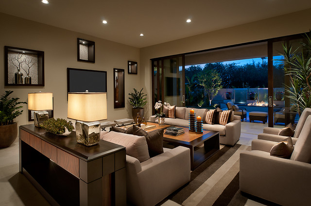 Good Ownby Design Contemporary Living Room