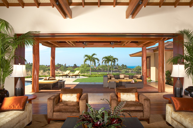 Ownby Design - Tropical - Living Room - Hawaii - by Ownby Design