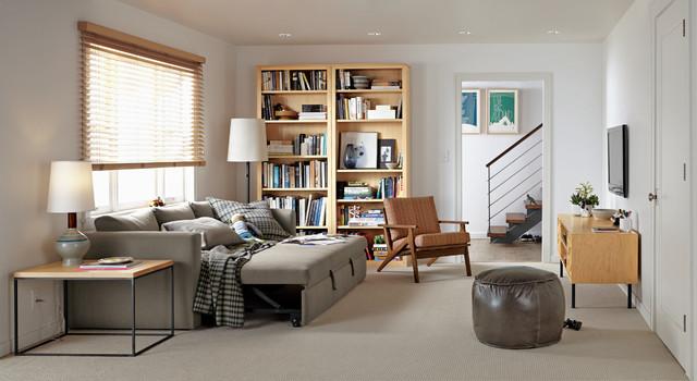 Peachy Oxford Pop Up Platform Sleeper Sofa Modern Living Room Pabps2019 Chair Design Images Pabps2019Com
