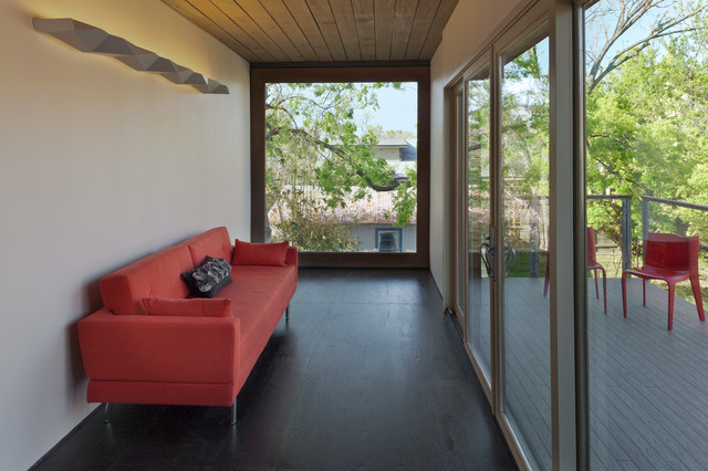 Oxford Shipping Container contemporary-living-room
