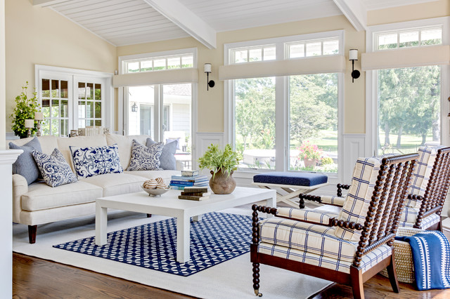 Perfekt Oyster Bay Cove Residence   Beach Style   Living Room   New York   By Kim E  Courtney Interiors U0026 Design Inc