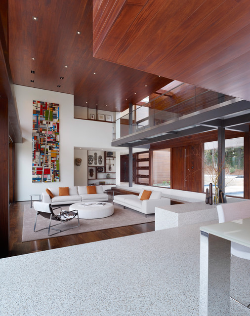 OZ House - Modern - Living Room - San Francisco - by Swatt | Miers Architects