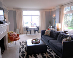 Pacific Heights Apartment eclectic-living-room