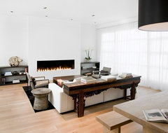 Pacific Heights Residence modern living room