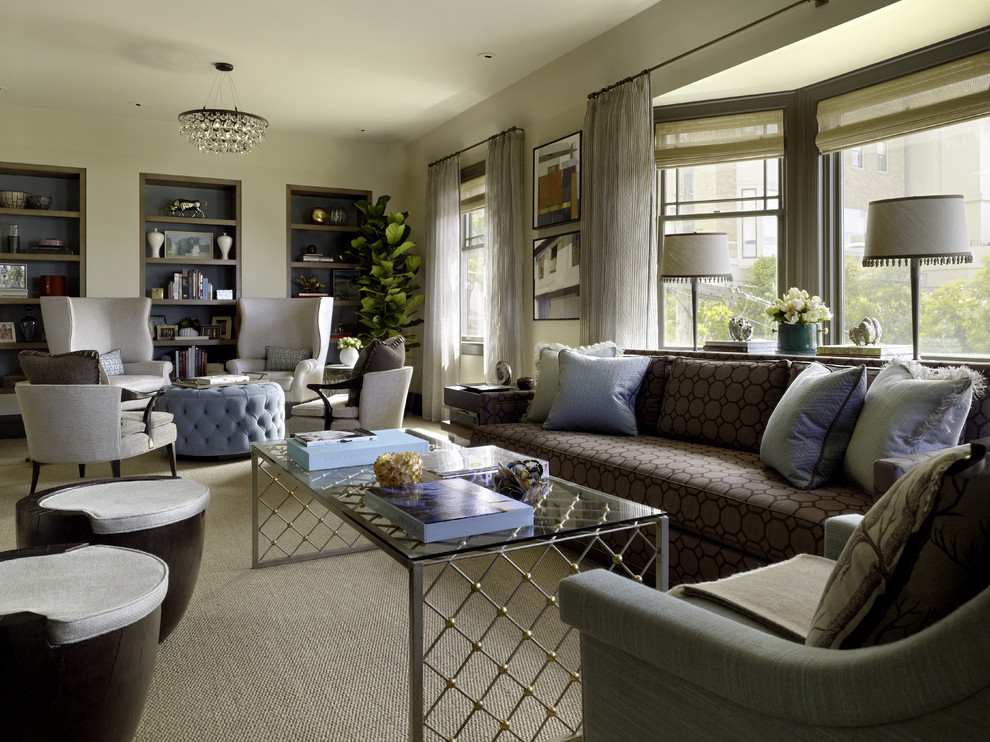 Inspiration for a contemporary living room remodel in San Francisco