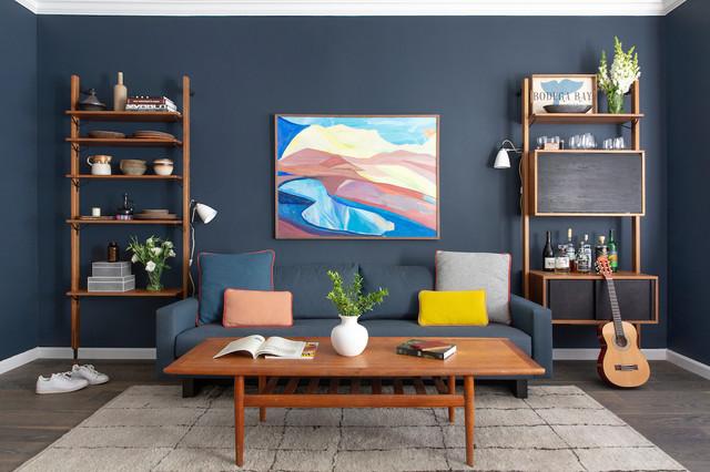 Pacific Heights Vintage Modern - Midcentury - Living Room ...
